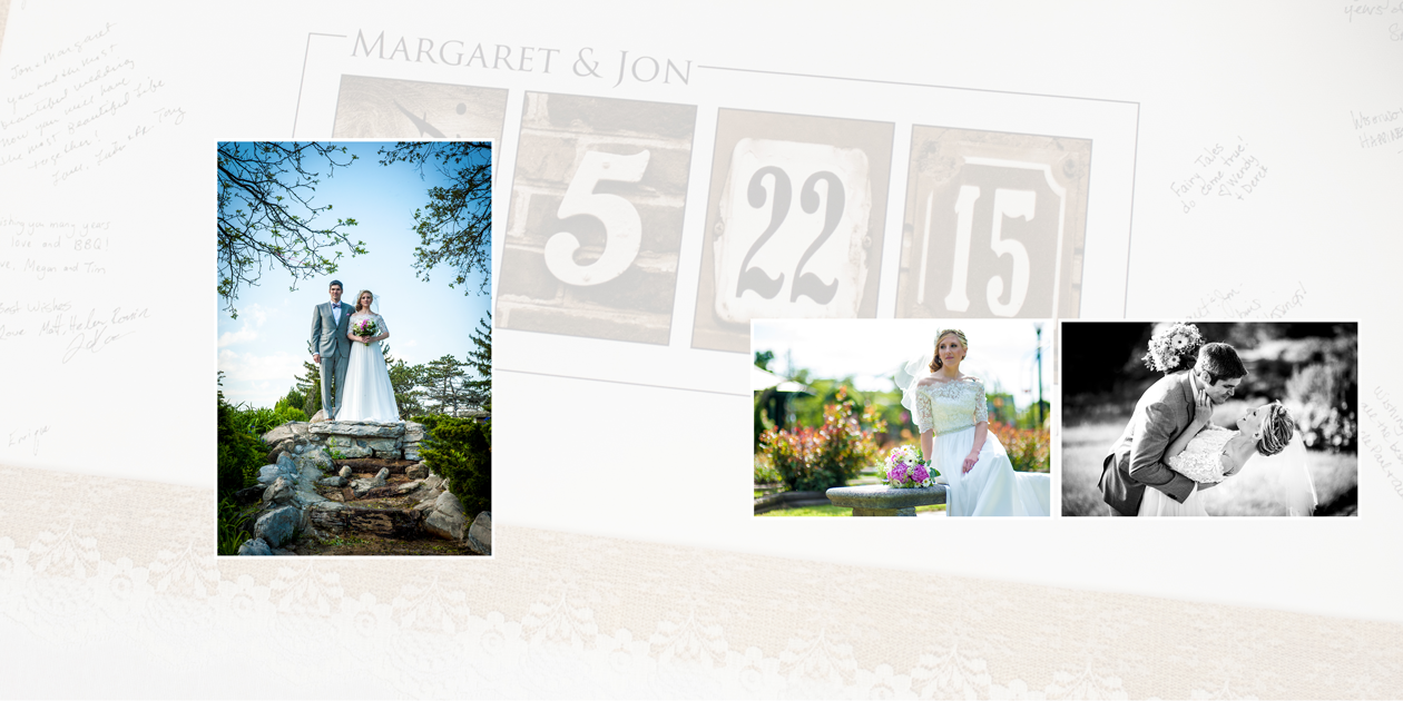 wedding in a Syracuse Park - anatoli photograffi doing the honors