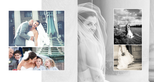Anatoli Photograffi Wedding pages from Studio Sample Book