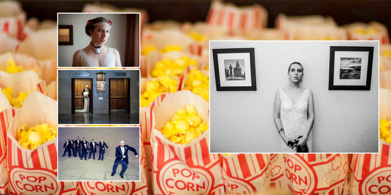 Popcorn wedding by anatoli photograffi